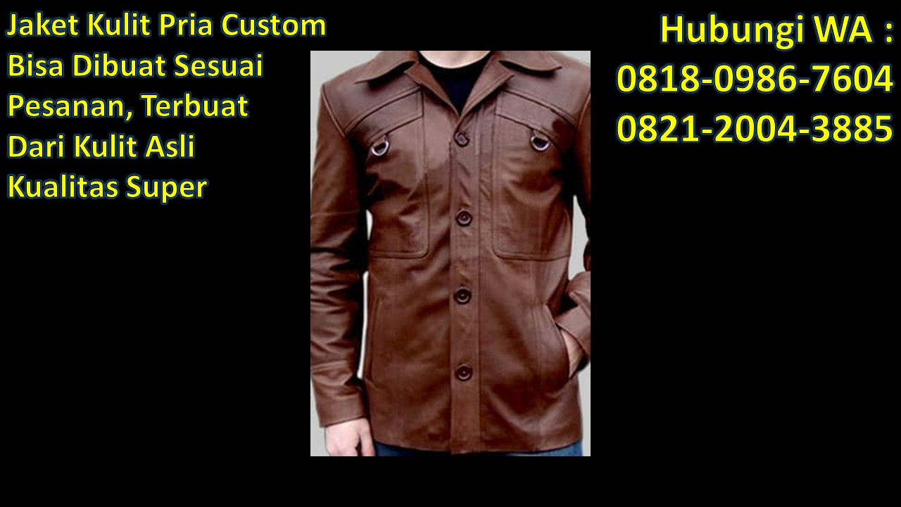 Jaket kulit sapi Bandung WA   0821-2004-3885 atau 0822-1813-7048 ... 131652a1f6
